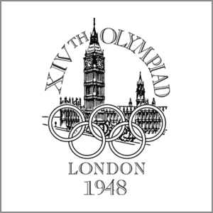 1948 Summer Olympics London logo