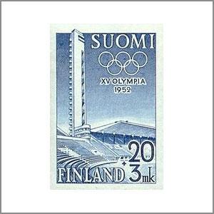 1952 Summer Olympics Helsinki logo