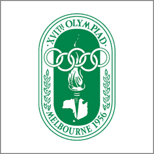 1956 Summer Olympics Melbourne logo