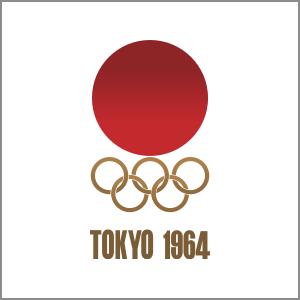 1964 Summer Olympics Tokyo logo