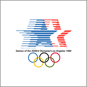 1984 Summer Olympics Los Angeles logo