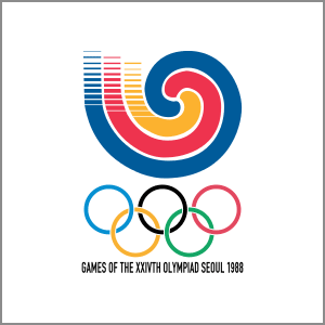 1988 Summer Olympics Seoul logo