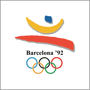 1992 Summer Olympics Barcelona logo