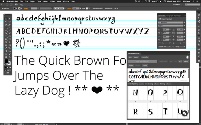 adding fonts to adobe illustrator