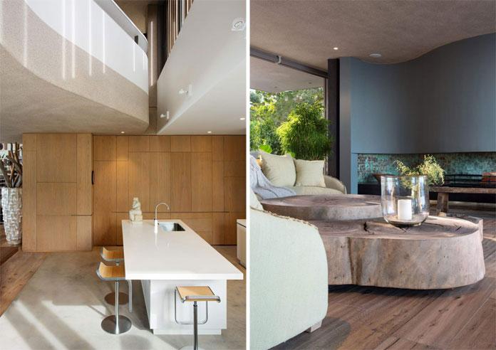 Noble interior design.