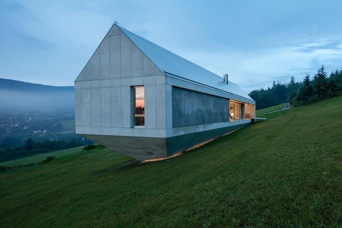 Flat Roof Bungalow Modern