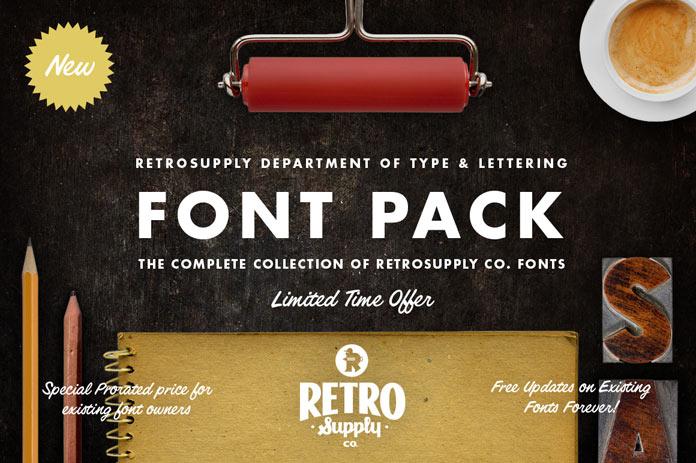Download retro fonts.