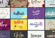 Handmade fonts bundle.