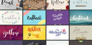 Handmade fonts bundle.