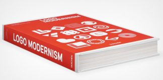 Logo Modernism design book by Jens Müller.