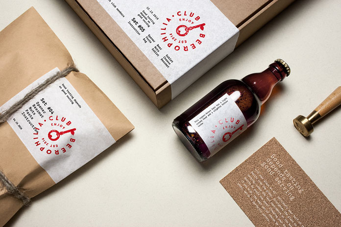 Beerophilia – brand and packaging design by Molto bureau.