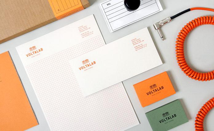 Brand identity and stationery system.