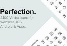 Download 2,100 vector icons for web, iOS, Android.
