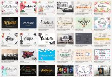 Download 90 fonts, graphics, themes, etc. and save 97.2%, only for a limited rime!