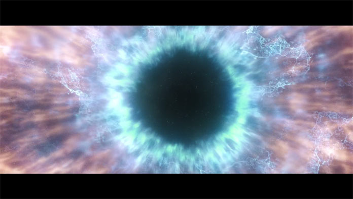 Opening scene of the short film Atoms of Uncontrollable Silence by Convolv.