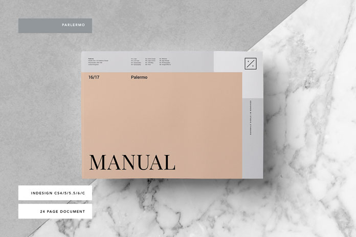 Brand Manual Template: Palermo