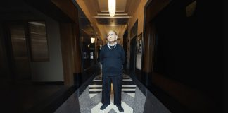 Ruben's Elevator – the story of the oldest elevator manual operator in Los Angeles.