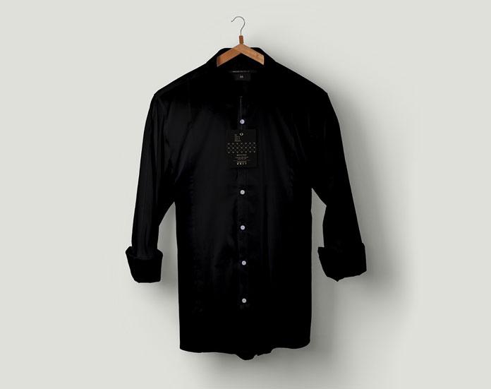Black shirt by Megan Michelle.