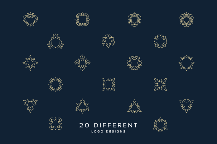 20 different designs.