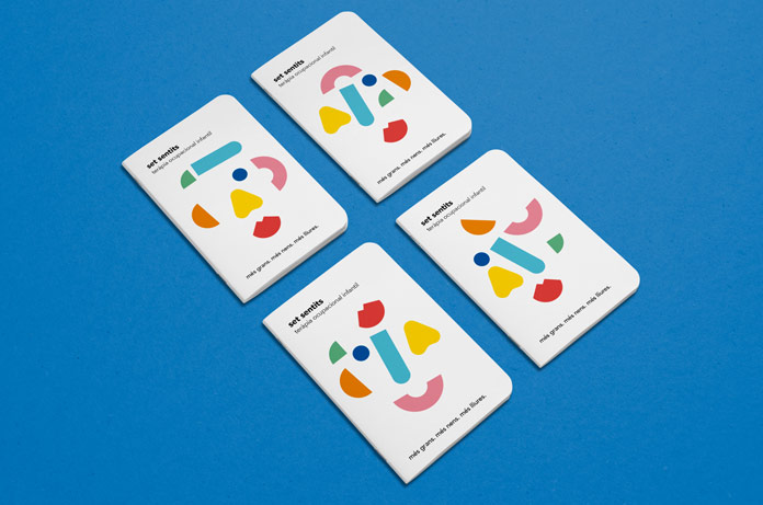 A simple but yet playful identity.