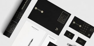 Brand and stationery set.