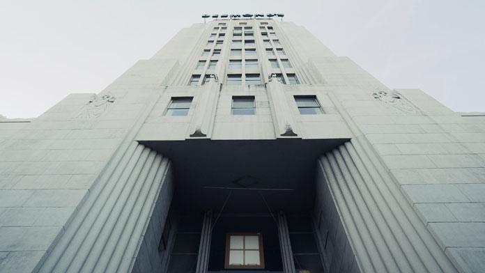 Art Deco building at 5514 Wilshire Blvd.