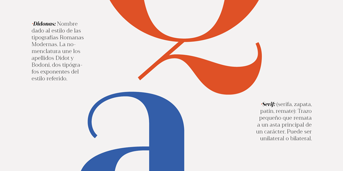 Didone serif font family from Latinotype Foundry.
