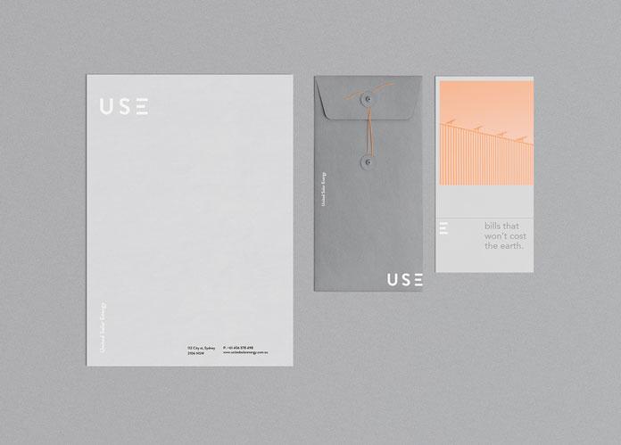 Minimalist print media.
