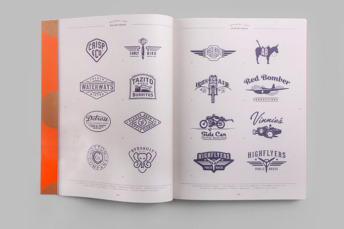 More examples of stunning vintage inspired logos.