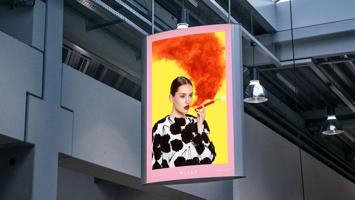 Billboard image campaign.