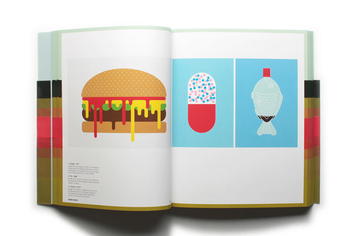 Food illustrations.
