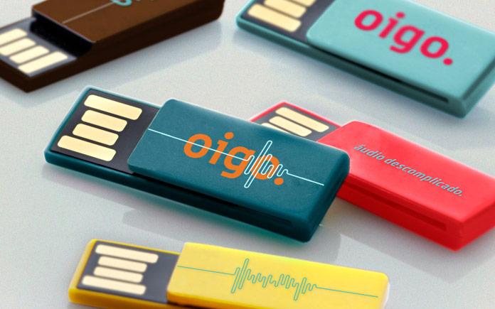 Memory sticks.