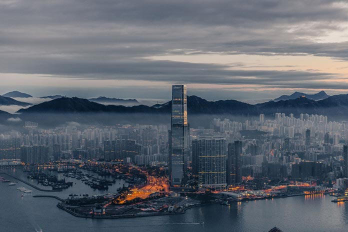 Hong Kong city view by photographer Xavier Portela.