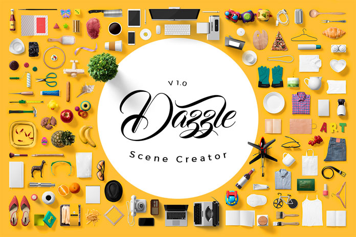 Dazzle - scene creator bundle for Adobe Photoshop.