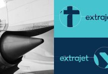 Extrajet – Airline branding by Alphabet