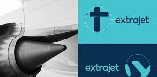 Extrajet – Airline branding by Alphabet