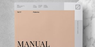 Palermo brand manual template by Studio Standard.