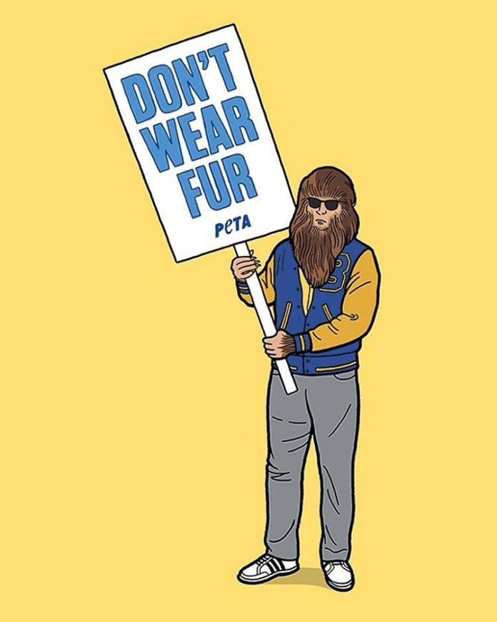 Teen Wolf – Don't Wear Fur.