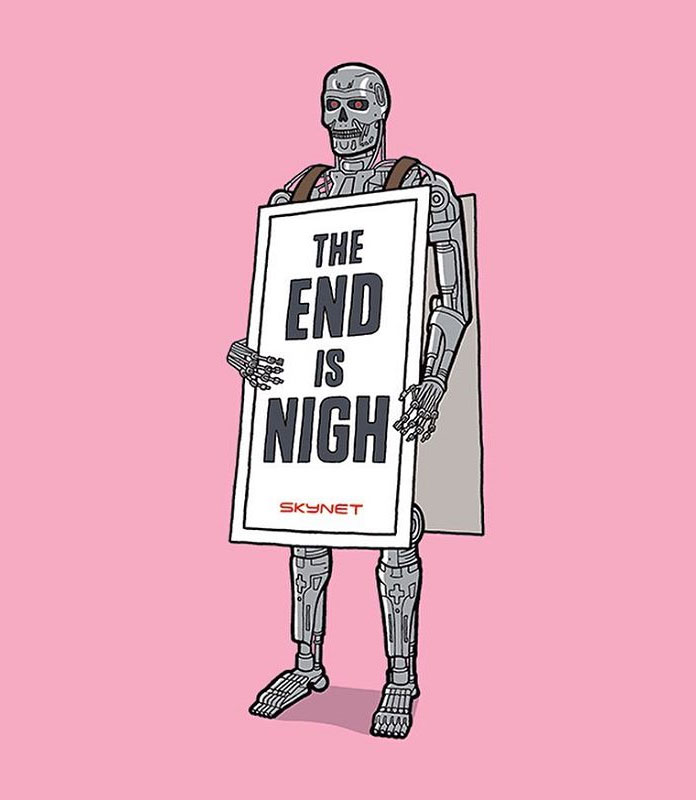 Terminator – The end is nigh.