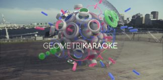 GEOMETRIKARAOKE, experimental 3D compositions in real places by LOROCROM aka Oscar López Rocha.