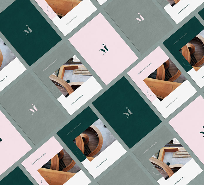 Moodboard Interiors Branding By Madelyn Bilsborough