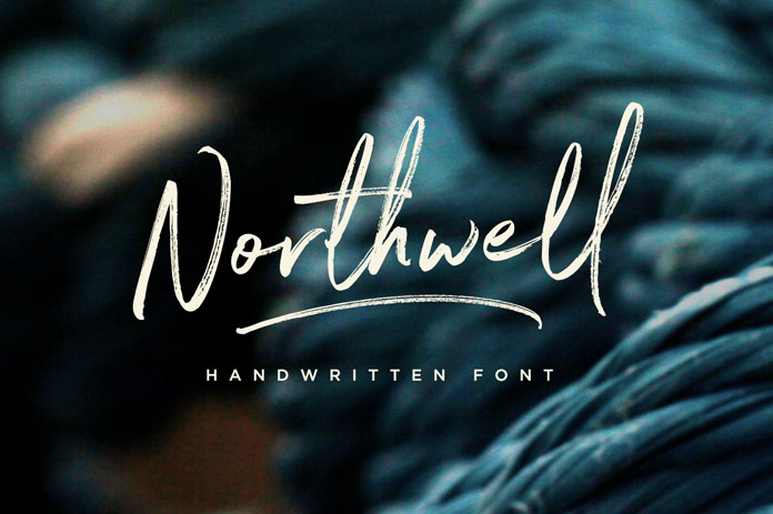 best handwriting fonts free download northwell font handwriting style 21391 | 1 Northwell font by Sam Parrett