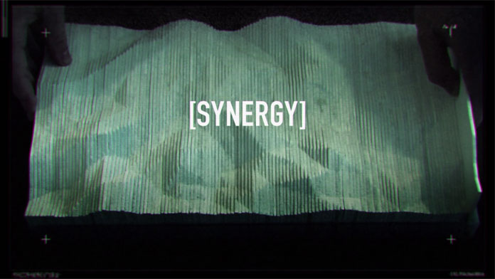 Synergy, a short experimental piece of animation produced by Treat Studios.