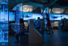 U 505 submarine dive simulator.