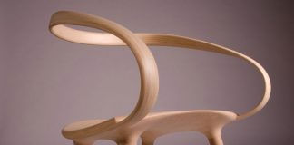 Velo chair by Jan Waterston.