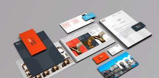 Visual identity design by Graphéine for the city of Romans-sur-Isère.
