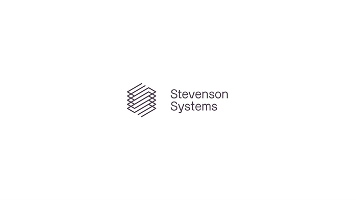 Stevenson Systems – logo creation.