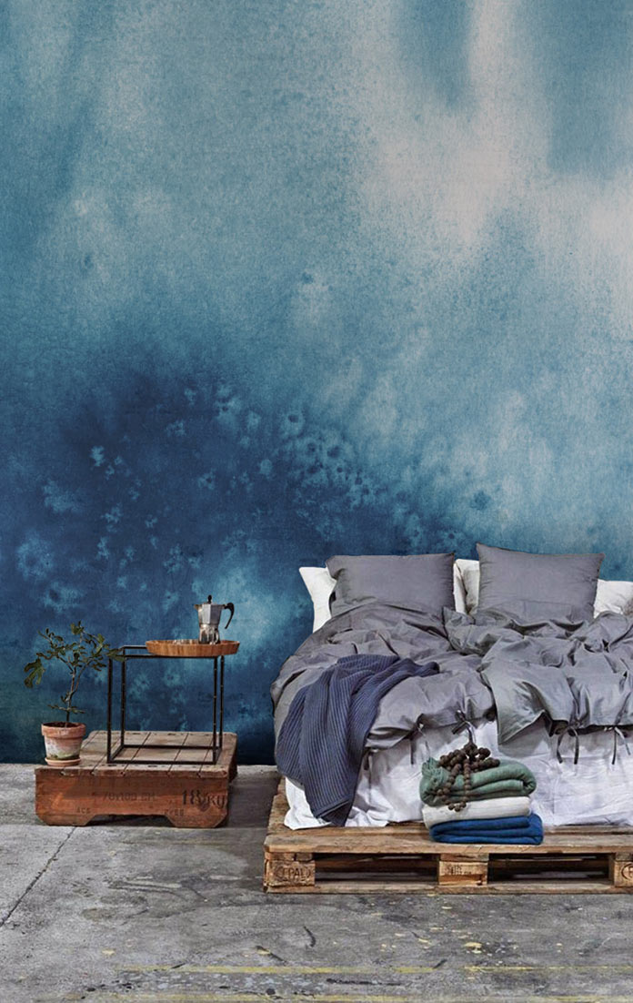 Watercolor wallpapers in diverse styles and colors.