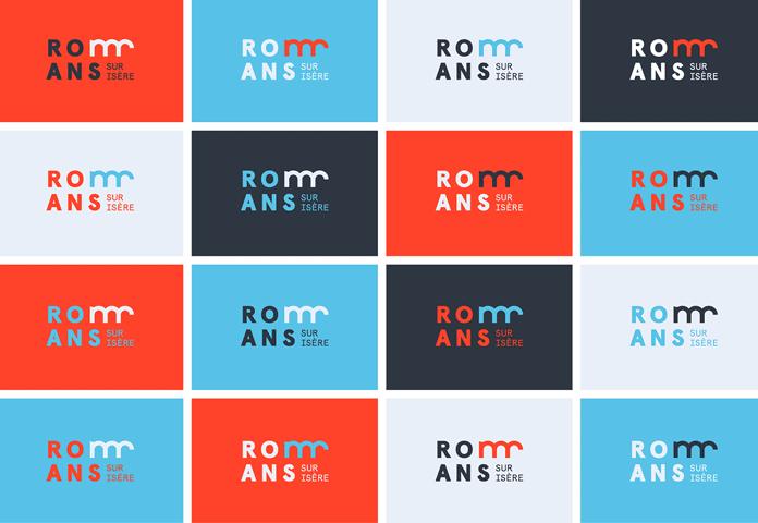 Logo color variants.