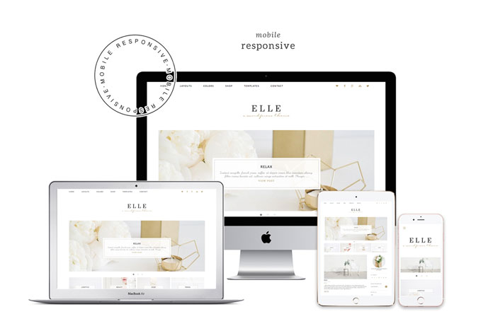 Responsive web design for desktop and mobile.